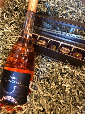 Rose' & Chocolate Sleeve Gift Pk